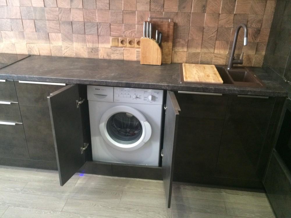 Акриловые кухни-Кухня из пластика «Модель 113»-фото6