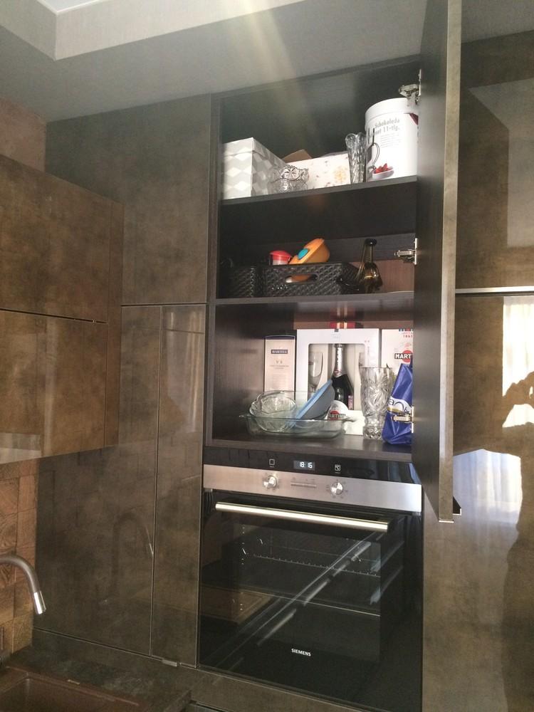 Акриловые кухни-Кухня из пластика «Модель 113»-фото7