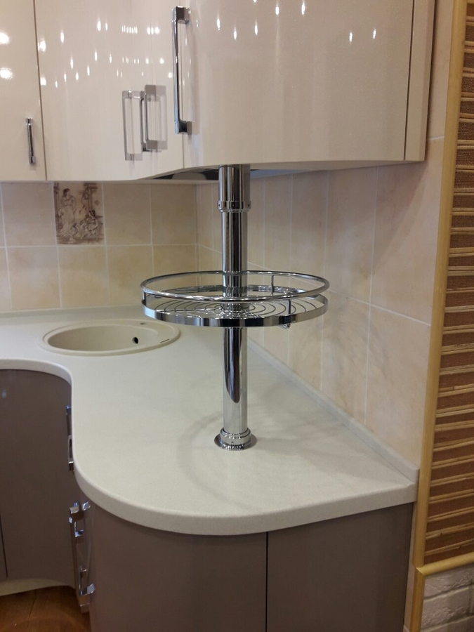 Белый кухонный гарнитур-Кухня «Модель 481»-фото7