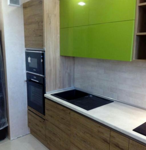 -Кухня из пластика «Модель 379»-фото11