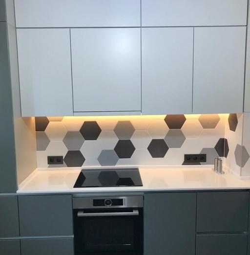 -Кухня МДФ в эмали «Модель 445»-фото14