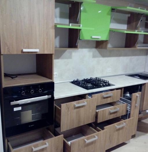 -Кухня из пластика «Модель 355»-фото24
