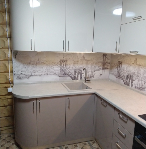 -Кухня МДФ в ПВХ «Модель 38»-фото13