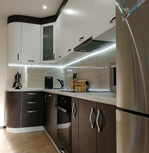 -Кухня МДФ в ПВХ «Модель 27»-фото7