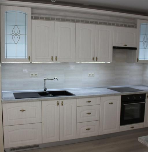 Акриловые кухни-Кухня из пластика «Модель 185»-фото4